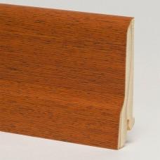 Плинтус шпонированный Pedross Мербау 80 x 20 мм