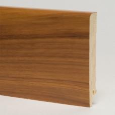 Плинтус шпонированный Pedross Орех 95 x 15 мм
