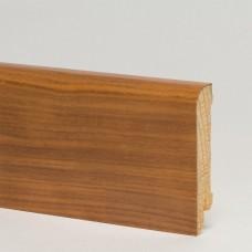 Плинтус шпонированный Pedross Орех темный 70 x 15 мм