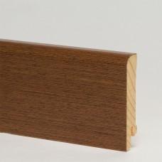 Плинтус шпонированный Pedross Венге 70 x 15 мм