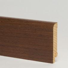 Плинтус шпонированный Pedross Венге ориджинал 70 x 15 мм
