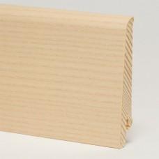 Плинтус шпонированный Pedross Ясень беленый 80 x 16 мм