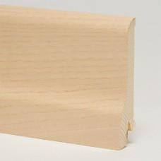 Плинтус шпонированный Pedross Ясень беленый 80 x 20 мм