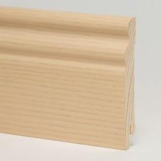 Плинтус шпонированный Pedross Ясень беленый SEG 100 95 x 15 мм