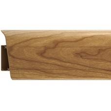 Плинтус из ПВХ Royal Орех кария 233 - 2500 x 76 x 23 мм