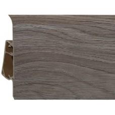 Плинтус из ПВХ Royal Дуб пражский 273 - 2500 x 76 x 23 мм