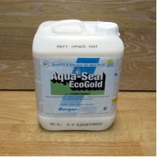 Однокомпонентный акрилово-полиуретановый лак на водной основе Berger Aqua-Seal EcoGold (Германия) матовый 5 л