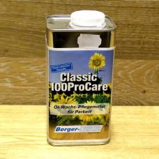 Средство по уходу на основе масла с воском для полов с сильной нагрузкой Berger Classic 100ProCare (Германия)