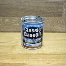 Тонированное масло глубокого проникновения Berger Classic Base Oil Color (Германия) орех/walnut 0,125 литра