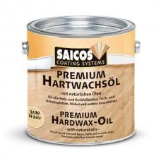 Цветное масло с твердым воском Saicos Premium Hartwachsol (Германия) 3100 (белый прозрачный матовый) пробник 125мл
