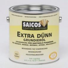 Грунтовка на основе масла для твердых и экзотических пород Saicos Extra Dunn Grundierol (Германия) 3001 бесцветная 0,75л