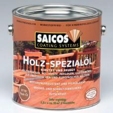 Масло для террасной доски SAICOS Holz-Spezialol (Германия) 0110 бесцветное, для любых пород пробник 125 мл