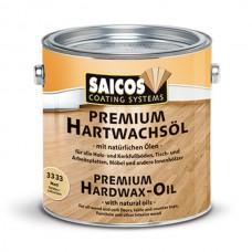 Масло с твердым воском без изменения цвета древесины Saicos Hartwachsol Premium Pur (Германия) 3333 Pur матовое 125мл