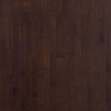 Паркетная доска Polarwood Дуб дарк браун коллекция Classic 3-полосная