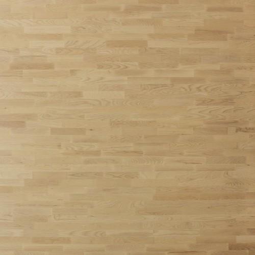 Паркетная доска Polarwood Дуб Ливинг белый матовый коллекция Classic 3-полосная