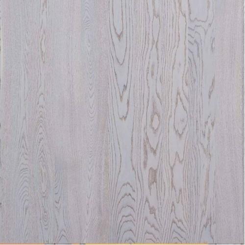 Паркетная доска Polarwood Дуб Элара снежно-белый матовый коллекция Classic 1-полосная 2000 х 138 мм