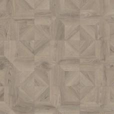 Ламинат Quick-Step Дуб серый теплый брашированный коллекция Impressive patterns IPA4141