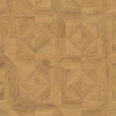 Ламинат Quick-Step Дуб природный бежевый брашированный коллекция Impressive patterns IPA4143