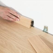 Клипсы-зажимы для стандартного плинтуса Quick-Step Clips QSCLIPSKME95(для ламината толщиной 9.5 мм)