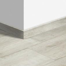 Виниловый плинтус Quick-Step Артизан серый (Artisan planks grey) QSVSKRA40040 (BACL40040) 12 мм