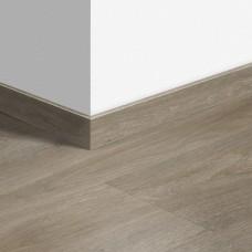 Виниловый плинтус Quick-Step Серо-бурый шелковый дуб (Silk oak grey brown) QSVSKRA40053 (BAGP40053 / BACL40053 / RBACL40053)
