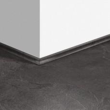 Виниловый плинтус Quick-Step скоция Сланец черный (Black slate) QSVSCOT40035 (AMCL40035 AMGP40035 AVST40035) 17 x 17 мм