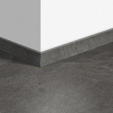 Виниловый плинтус Quick-Step стандартный Сланец серый (Grey slate) QSVSK40034 (AMCL40034 AMGP40034) 58 x 12 мм