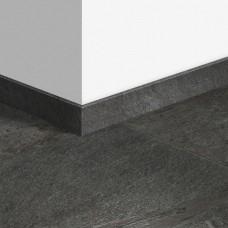 Виниловый плинтус Quick-Step стандартный Сланец черный (Black slate) QSVSK40035 (AMCL40035 AMGP40035 AVST40035) 58 x 12 мм