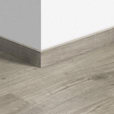 Виниловый плинтус Quick-Step стандартный Дуб осенний теплый серый (Autumn oak warm gray) QSVSK40089 (PUGP40089 PUCL40089) 58 x 12 мм