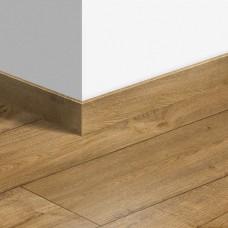 Виниловый плинтус Quick-Step стандартный Дуб теплый натуральный (Warm oak natural) QSVSK40094 (PUGP40094 PUCL40094) 58 x 12 мм