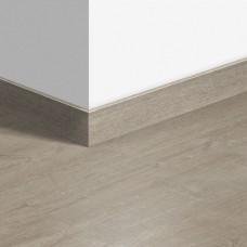 Виниловый плинтус Quick-Step стандартный Дуб хлопковый светло-серый (Cotton oak light gray) QSVSK40105 (PUGP40105 PUCL40105) 58 x 12 мм