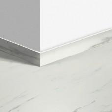 Виниловый плинтус Quick-Step стандартный Мрамор каррарский белый (Marble Carrara White) QSVSK40136 (AMCL40136 AMGP40136 AVST40136 RAMCL40136) 58 x 12 мм