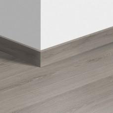 Виниловый плинтус Quick-Step стандартный Эко серый (Eco gray) QSVSK40237 (AVMP40237) 58 x 12 мм