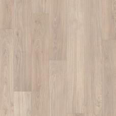 Ламинат Quick-Step Доска дубовая светло-серая лак коллекция Eligna UM1304
