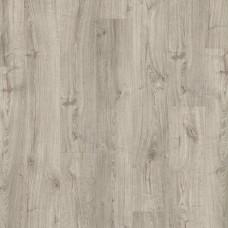 ПВХ плитка для пола Quick-Step Livyn Дуб осенний теплый серый коллекция Pulse Click PUCL40089