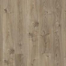 ПВХ плитка для пола Quick-Step Livyn Дуб коттедж серо-коричневый коллекция Balance Click BACL40026
