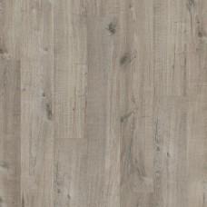 ПВХ плитка для пола Quick-Step Livyn Дуб хлопковый темно-серый коллекция Pulse Click PUCL40106