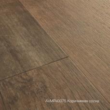 Плитка ПВХ Quick-Step Коричневая сосна (Sundown Pine) коллекция Alpha Vinyl Medium Planks AVMP40075