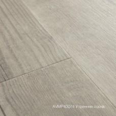 Плитка ПВХ Quick-Step Утренняя сосна (Morning Mist Pine) коллекция Alpha Vinyl Medium Planks AVMP40074