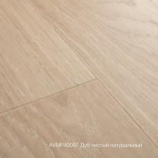 Плитка ПВХ Quick-Step Дуб чистый натуральный (Pure Oak Blush) коллекция Alpha Vinyl Medium Planks AVMP40097