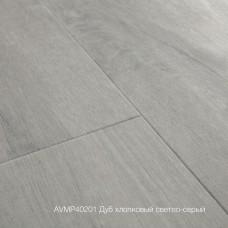 Плитка ПВХ Quick-Step Дуб хлопковый светло-серый (Cotton Oak Cold Grey) коллекция Alpha Vinyl Medium Planks AVMP40201