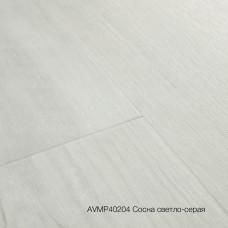 Плитка ПВХ Quick-Step Сосна светло-серая (Snow Pine) коллекция Alpha Vinyl Medium Planks AVMP40204
