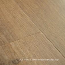 Плитка ПВХ Quick-Step Дуб коттедж натуральный (Cottage oak natural) коллекция Alpha Vinyl Small Planks AVSP40025