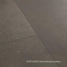 Плитка ПВХ Quick-Step Окисленный камень (Oxidized Rock) коллекция Alpha Vinyl Tiles AVST40235