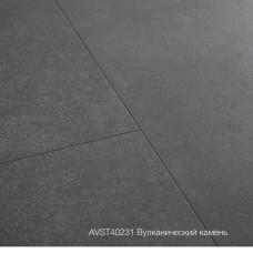 Плитка ПВХ Quick-Step Вулканический камень (Volcanic Rock) коллекция Alpha Vinyl Tiles AVST40231