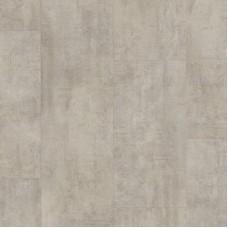 Плитка ПВХ Quick-Step Vinyl Flex Травертин светло-серый коллекция Ambient Glue Plus AMGP40047