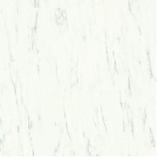 Плитка ПВХ Quick-Step Мрамор каррарский белый коллекция Ambient Rigid Click RAMCL40136