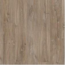Плитка ПВХ Quick-Step Vinyl Flex Дуб каньон темно-коричневый пилёный коллекция Balance Click BACL40059