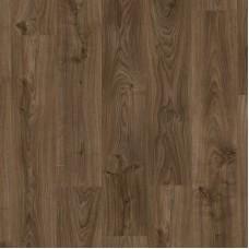 Плитка ПВХ Quick-Step Дуб коттедж темно-коричневый коллекция Balance Click Plus BACP40027