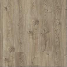Плитка ПВХ Quick-Step Дуб коттедж серо-коричневый коллекция Balance Rigid Click RBACL40026